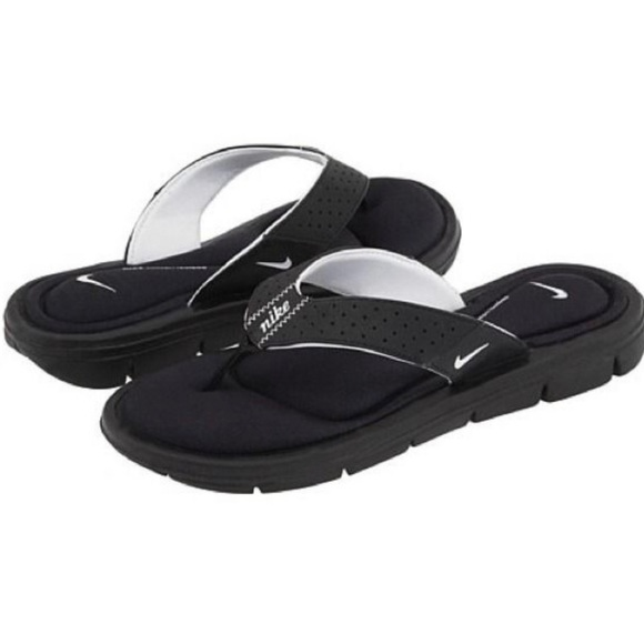 mens nike sandals with memory foam